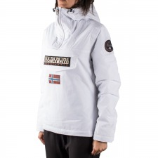 Napapijri Canguro Rainforest Winter Bright White Blanco Invierno Mujer