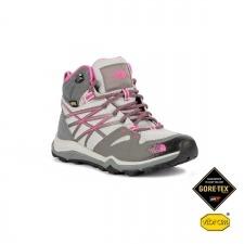 The North Face Bota Hedgehog Fastpack Lite Mid GTX Grey Pink Gris Rosa Mujer