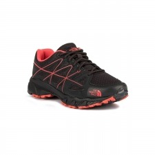 The North Face Storm MS Phantom Grey Cayene Red Negro Rojo Mujer