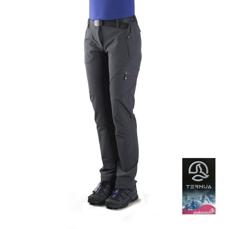 Nuevos objetos precios de remate bastante baratas Ternua Pantalón Zentu Gris Mujer
