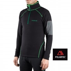 Trangoworld Pullover Elon Negro Verde Hombre