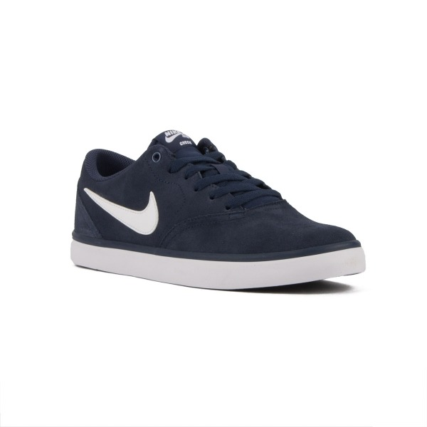 separation shoes f4cf1 b2ef2 Nike SB Check Solar Azul Midnight Navy White Hombre