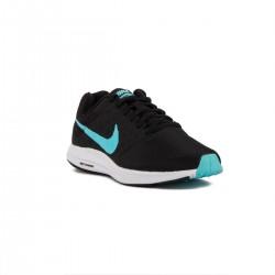 Nike Wmns Downshifter 7 Negro Azul Black Polarized Blue Mujer
