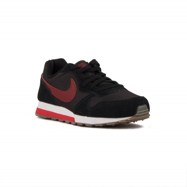Nike MD Runner 2 GS Black Team Red Negro Rojo Niño