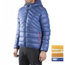 +8000 Chaqueta fibras Loarre 17I Azul Lavado Hombre