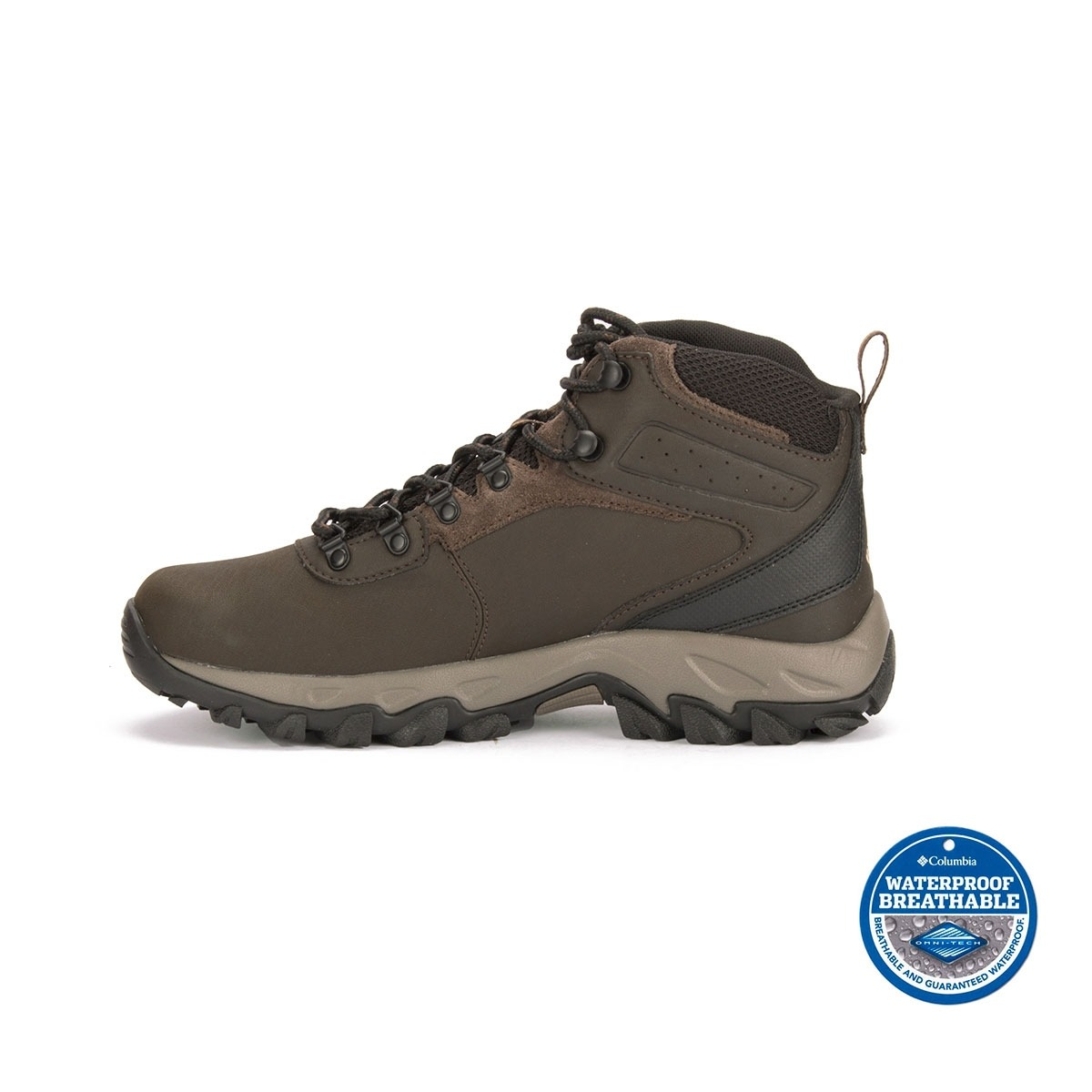 Columbia Bota Newton Ridge Plus II WP Marrón Hombre