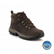 Columbia Bota Newton Ridge Plus II Suede WP Marrón Hombre