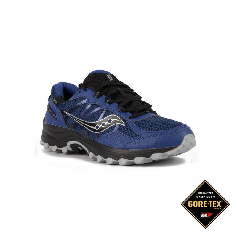 d8594716faca Saucony Grid Excursion Tr11 GTX Blue Grey Hombre
