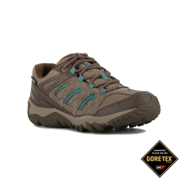 8f886aaa5 Merrell Zapatilla Outmost Vent Gtx Gris claro turquesa Mujer