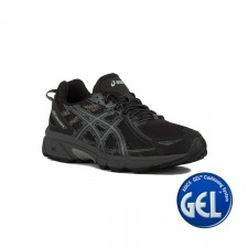 Asics Gel Venture 6 Black Phantom Mid Grey Hombre