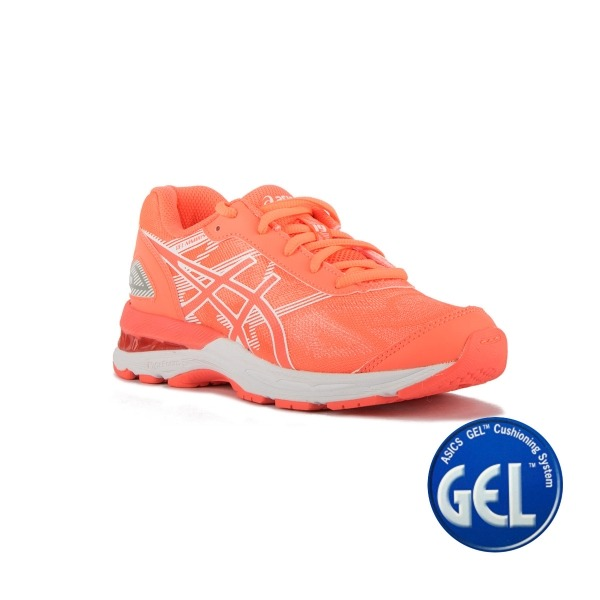 Asics Gel Nimbus 19 GS Flash Coral White Flash Coral Niño