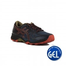 Asics Gel FujiTrabuco 6 Insignia Blue Black Red Clay Hombre