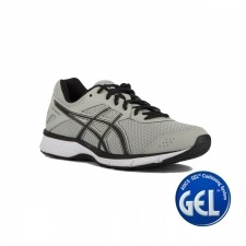 Asics Gel Galaxy 9 Mid Grey Black Silver Hombre