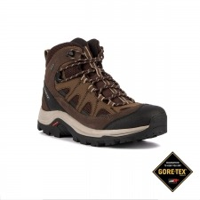 Salomon Botas Authentic Ltr GTX Black Coffee Chocolate Marrón Hombre
