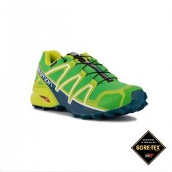 Salomon Zapatilla Speedcross 4 GTX Peppermint Verde Hombre