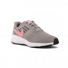 Nike Star Runner GS Atmosphere Grey Gris Rosa Niño