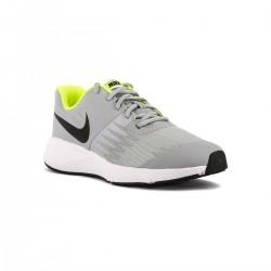 Nike Star Runner GS Wolf Grey Gris Fluor Niño