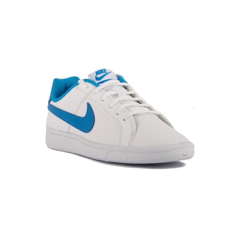 Nike Court Royale GS White Photo Blue Blanco Azul Negro