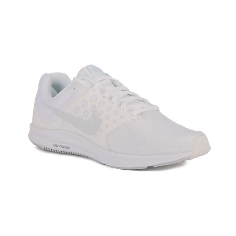 Nike Downshifter 7 Blanco White Pure Platinum Hombre