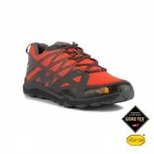 The North Face Hedgehog Fastpack Lite GTX Black Tibetan Oranger Goretex Hombre