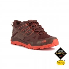 The North Face Hedgehog Fastpack Lite II GTX Brown Fire Red Goretex Mujer