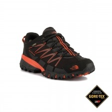 The North Face Zapatilla Ultra 110 GTX Negro Rojo Goretex Hombre