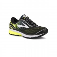 Brooks Ghost 10 Black White Nightlife Hombre