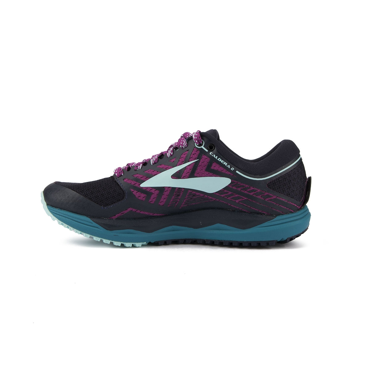 Brooks Caldera 2 Blue Navy Plum Ice Blue Mujer