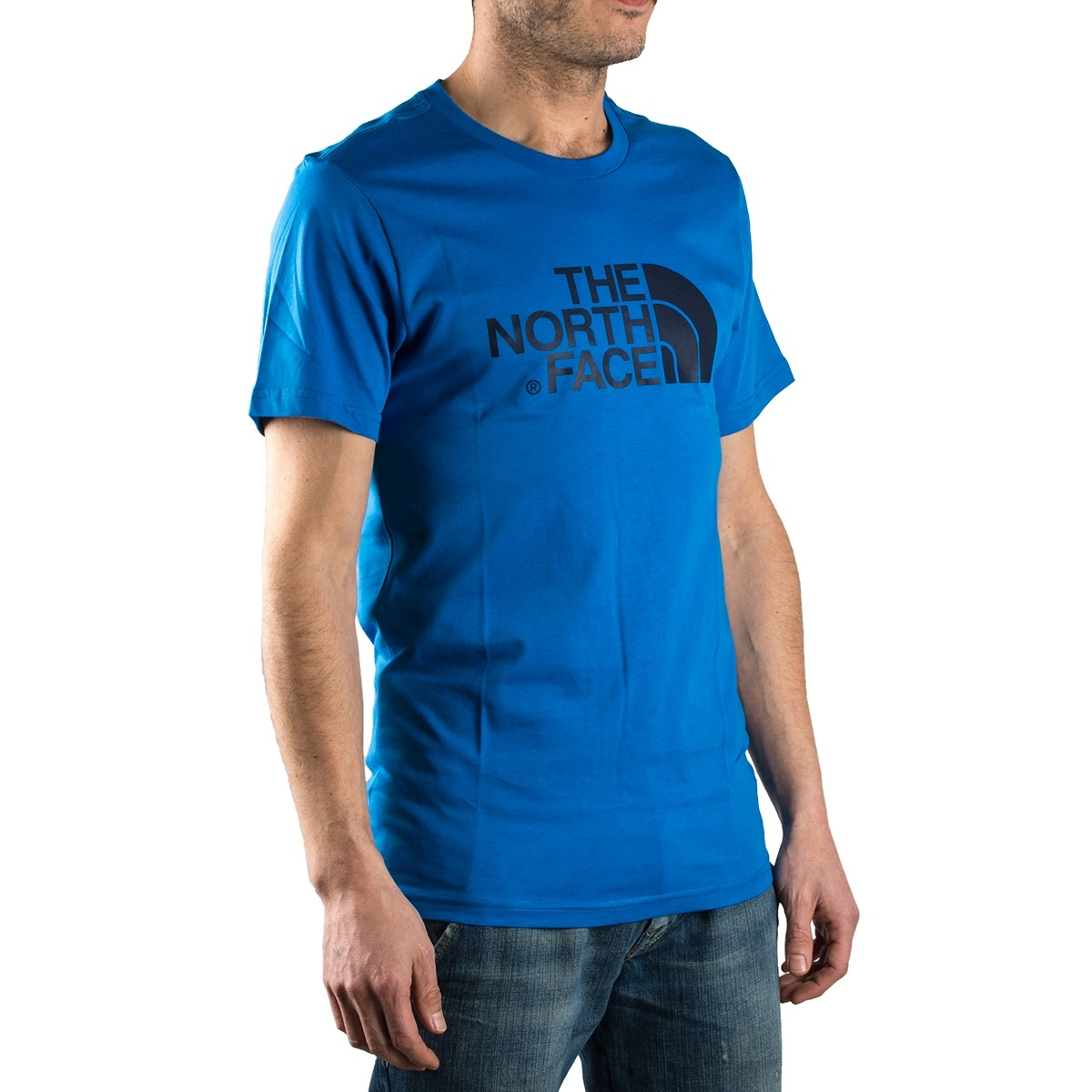 The North Face Camiseta Easy Tee Bomber Blue Azul Hombre