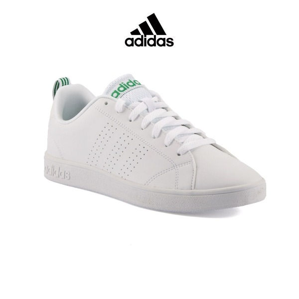 ADIDAS VS Advantage Clean K White Green Niño