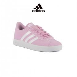 ADIDAS Vlcourt 2.0 K Pink White Niña