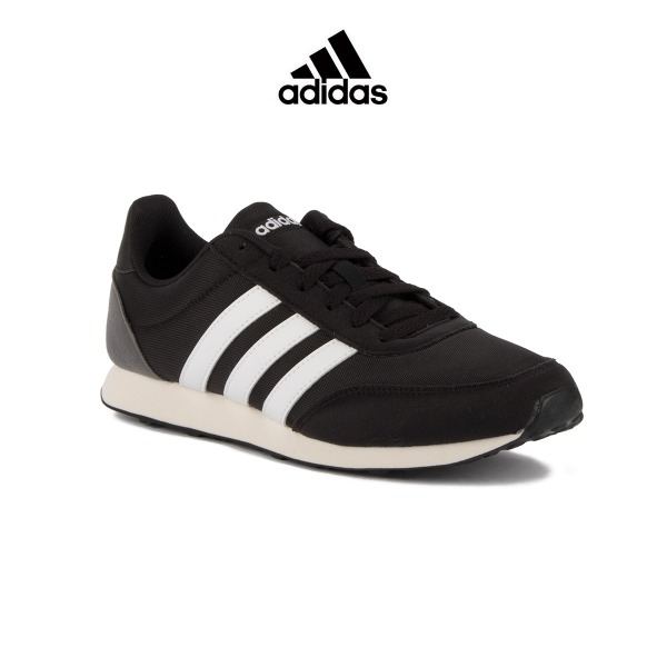 uk availability a01f5 756d7 ADIDAS Neo V Racer 2.0 Black White Grey Hombre