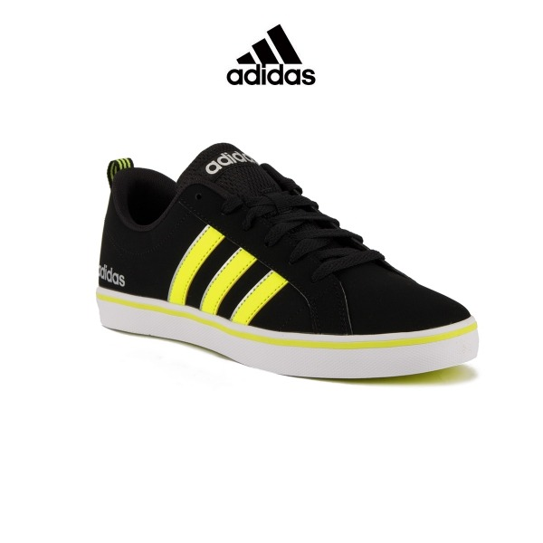 ADIDAS VS Pace Black Yellow Silver Hombre