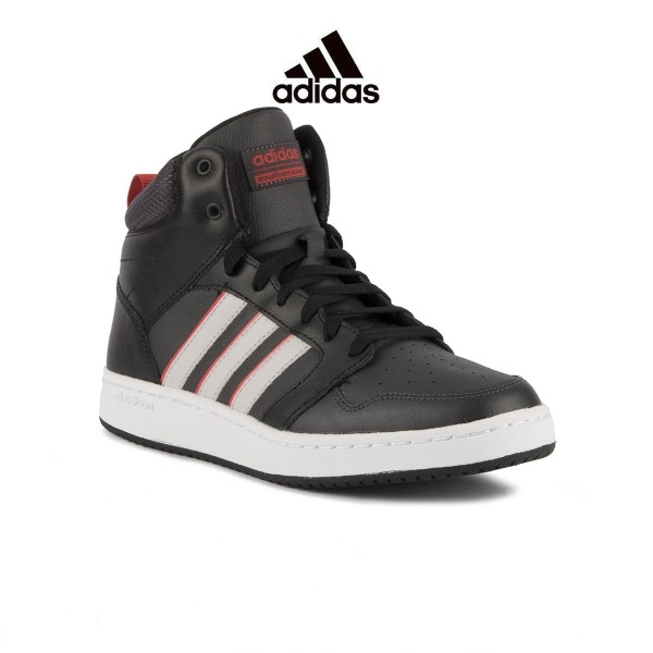 the best attitude 9aa98 2ddde ADIDAS CF Super Hoops Mid Black Greone Hombre