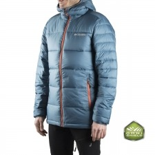 Columbia Chaqueta Frost Fighter™ Hooded Azul Hombre