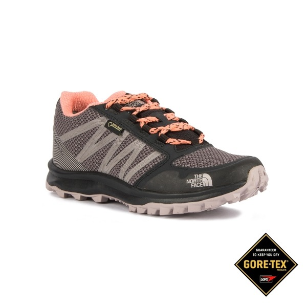 The North Face Zapatillas De Senderismo Ultra Fastpack Ii Gtx - Gore-Tex® - Gris Y Turquesa
