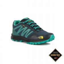 The North Face Litewave Fastpack GTX Azul Verde Gore-tex Mujer