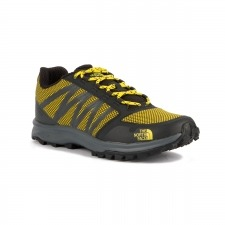 The North Face Litewave Fastpack Gris Amarillo Hombre