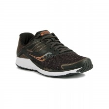 Saucony Ride 10 Black Denim Negro Hombre