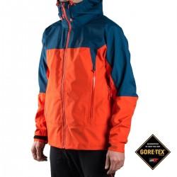 Millet Chaqueta Jungfrau GTX Naranja Azul Orange Poseidon Hombre