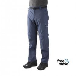 Trangoworld Pantalón Desmontable Temot 7R0 Azul Hombre