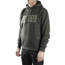 +8000 Sudadera Itamut Loden Verde Hombre