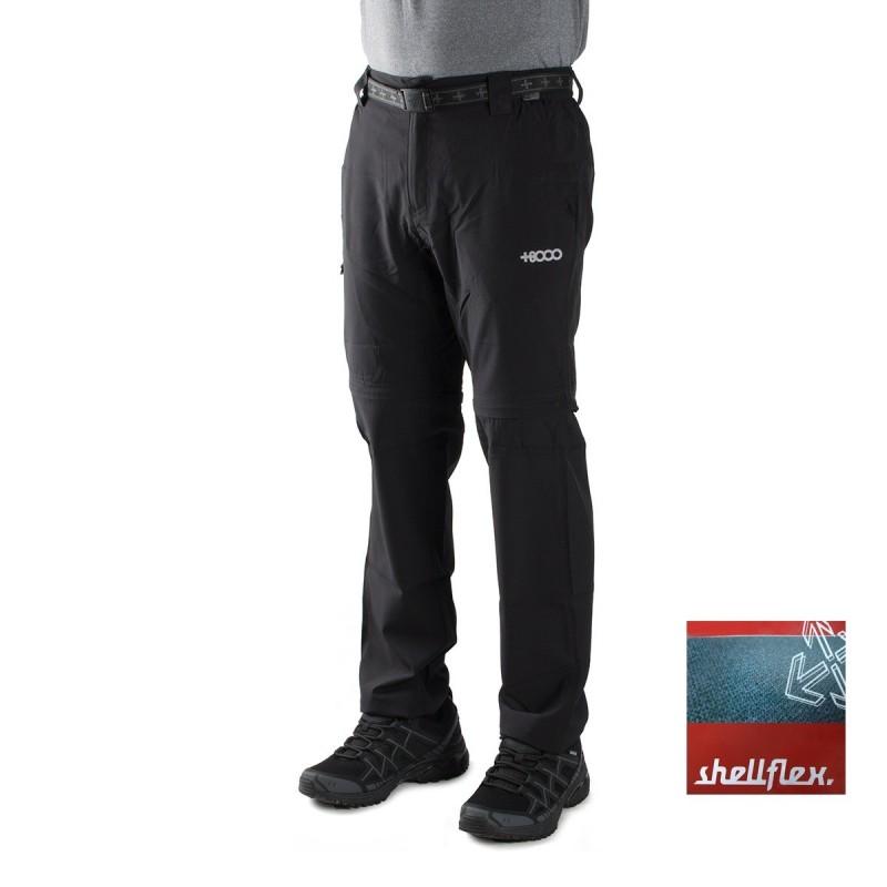 +8000 Pantalón Desmontable Torrebarrio 18V Negro Hombre
