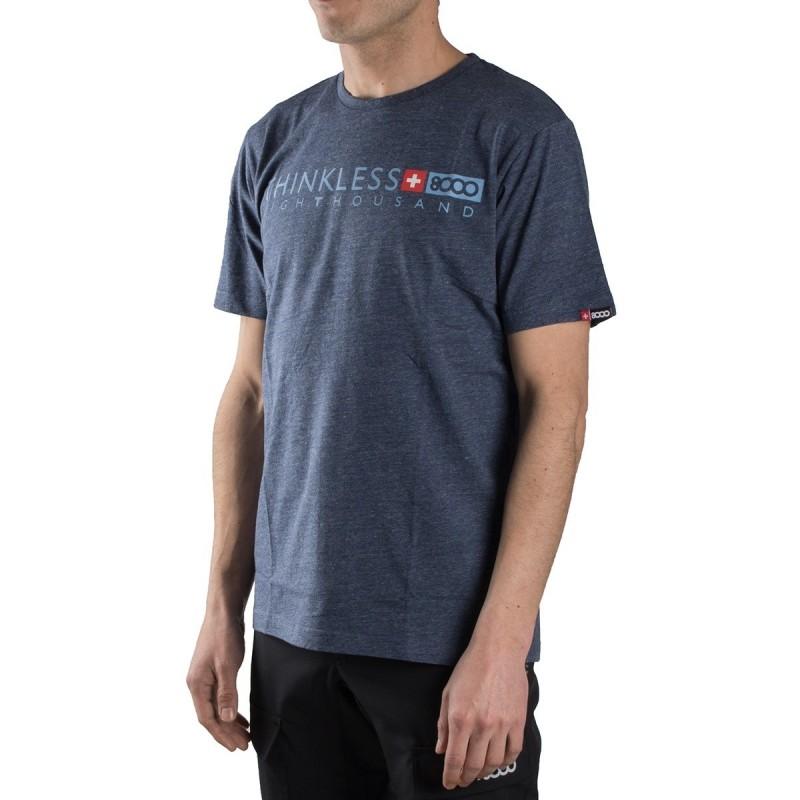 +8000 Camiseta Kubor 18V Azul Marino Vigore Hombre