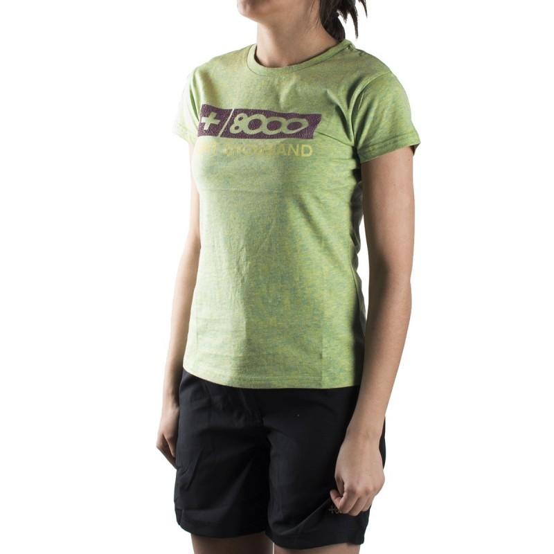 +8000 Camiseta Forqueta 18V Pistacho Vigore Mujer