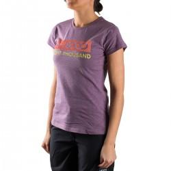 +8000 Camiseta Forqueta 18V Vino Rosado Vigore Mujer