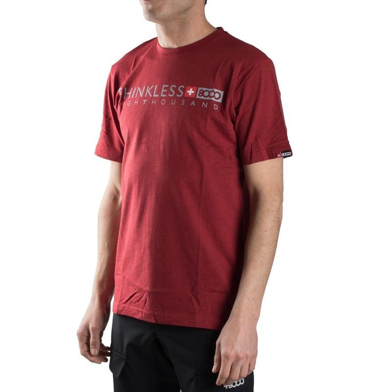 +8000 Camiseta Kubor 18V Ketchup Granate Hombre