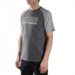 +8000 Camiseta Gardner 18V Bicolor Negro Vigore Hombre