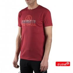 Ternua Camiseta Foncea C Granate Hombre