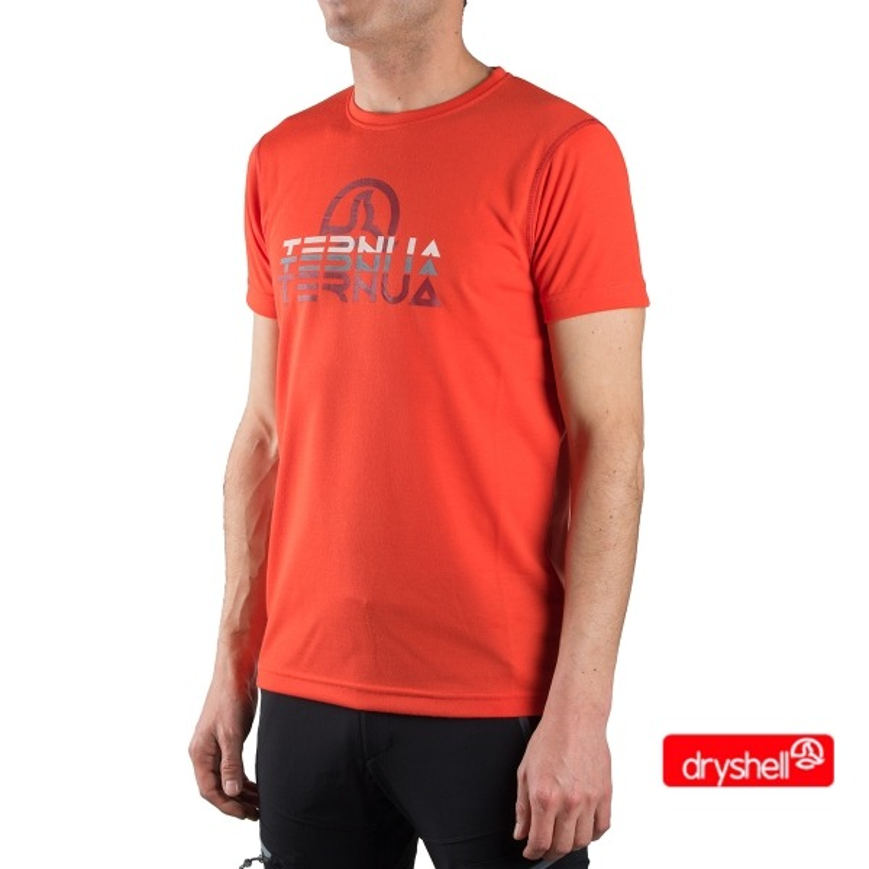 Ternua Camiseta Foncea A Naranja Hombre